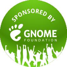 gnome-foundation-sponsored-badge