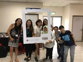 It was great meeting the Girls Who Code Taipei group!