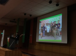 The closing ceremony included highlights from all three communities: GNOME, OpenSUSE, and COSCUP.