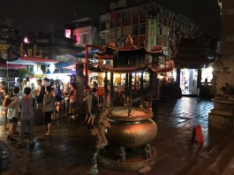 Night market in Tapei