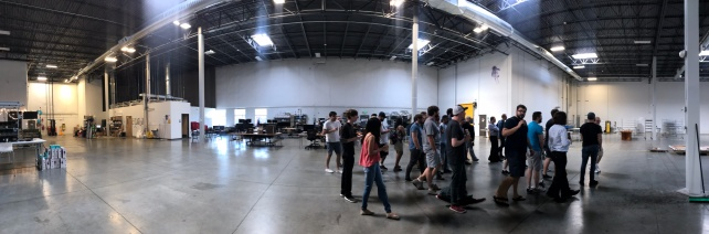 System 76 showed us their brand new warehouse and explained how it would grow in the upcoming months
